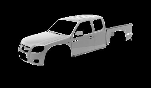 Цвета кузова BT-50 4-х дверный